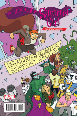 The Unbeatable Squirrel Girl #16 (Allison Story Thus Far Cover)