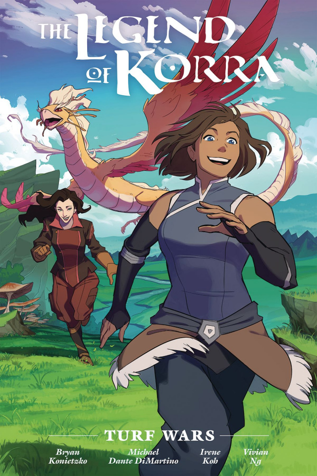 The Legend of Korra: Turf Wars (Library Edition)