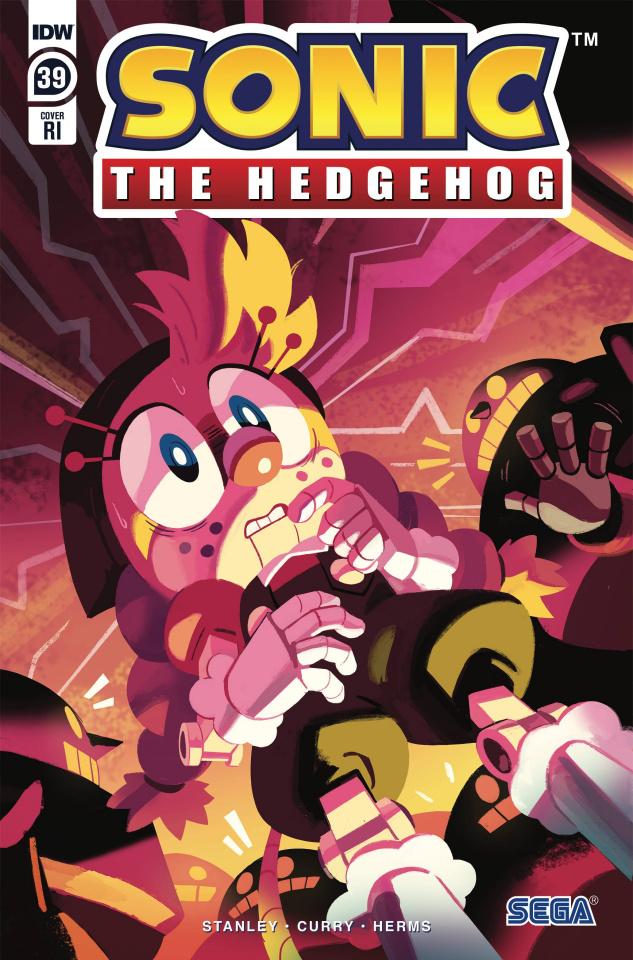 Sonic the Hedgehog #39 (10 Copy Fourdraine Cover)