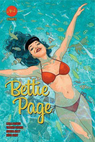 Bettie Page #4 (Kano Cover)