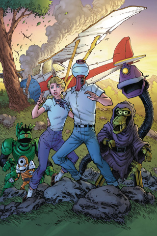 Mystery Science Theater 3000 #5 (Nauck Cover)