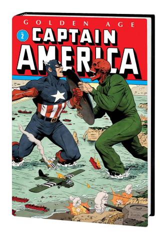 Golden Age Captain America Vol. 2 (Omnibus Rivera Cover)
