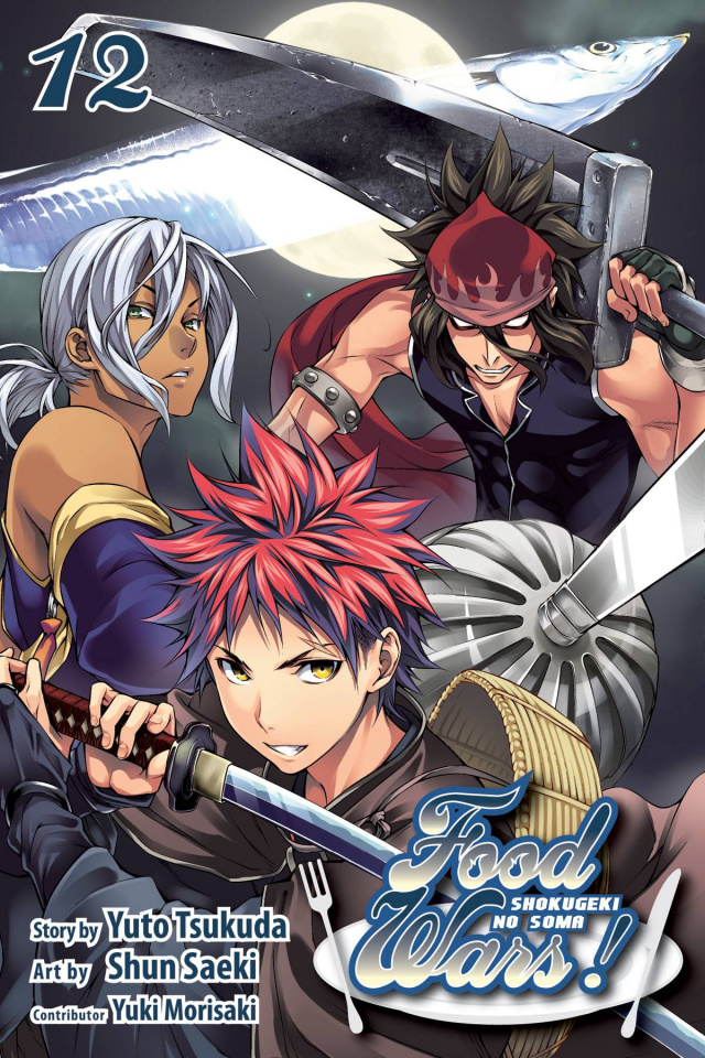 Food Wars! Shokugeki No Soma Vol. 12