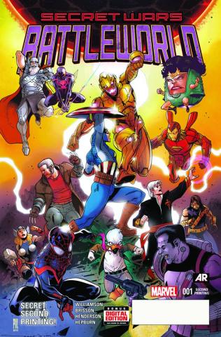 Secret Wars: Battleworld #1 (Medina 2nd Printing)