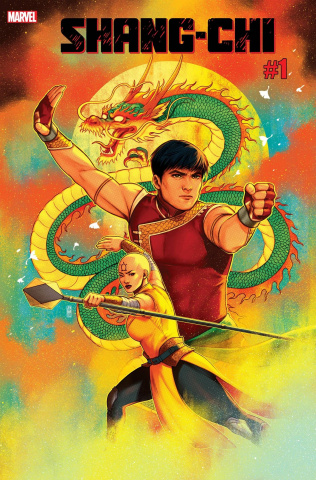 Shang-Chi #1 (Bartel Cover)
