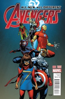 All-New All-Different Avengers #1 (Asrar Cover)