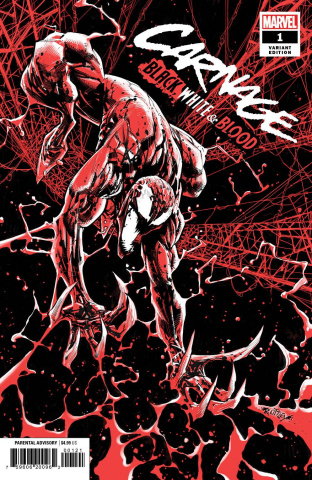 Carnage: Black, White, and Blood #1 (Ottley Cover)