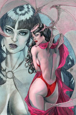 Vampirella #4 (40 Copy March Virgin Cover)