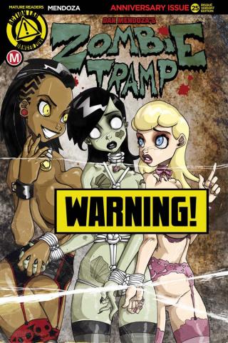 Zombie Tramp #25 (Mendoza Risque Cover)