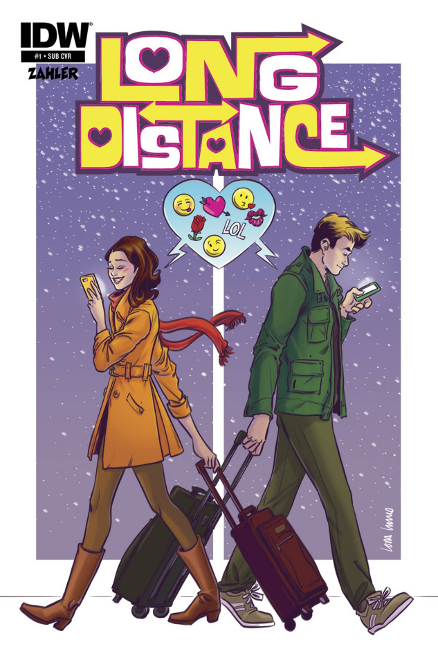 Long Distance #1 (Subscription Cover)