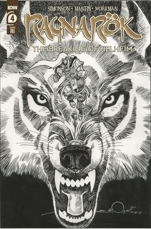 Ragnarök: The Breaking of Helheim #4 (10 Copy Simonson Cover)