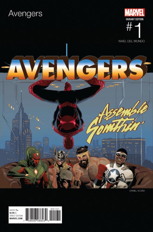 Avengers #1 (Acuna Hip Hop Cover)