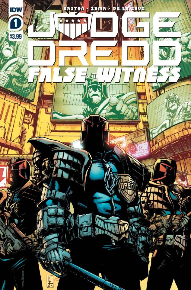 Judge Dredd: False Witness #1 (Zama Cover)