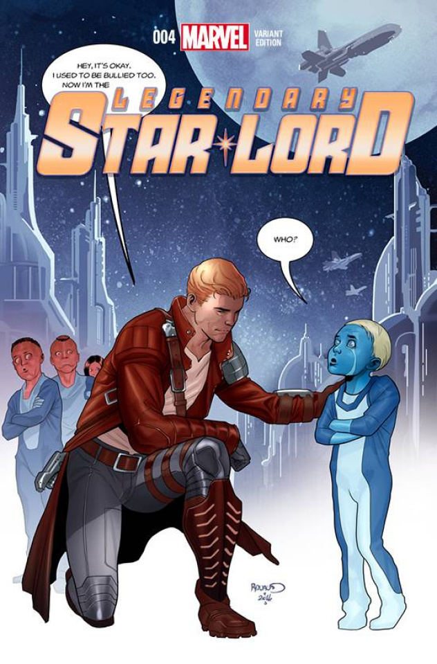 Legendary Star-Lord #4 (Stomp Out Bullying Cover)