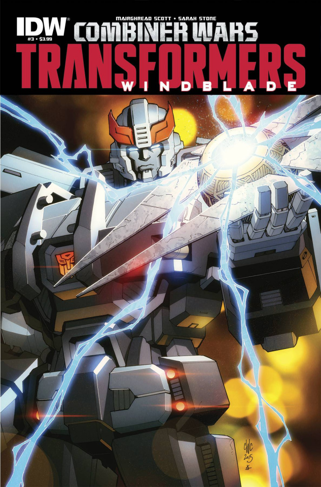 The Transformers: Windblade - Combiner Wars #3