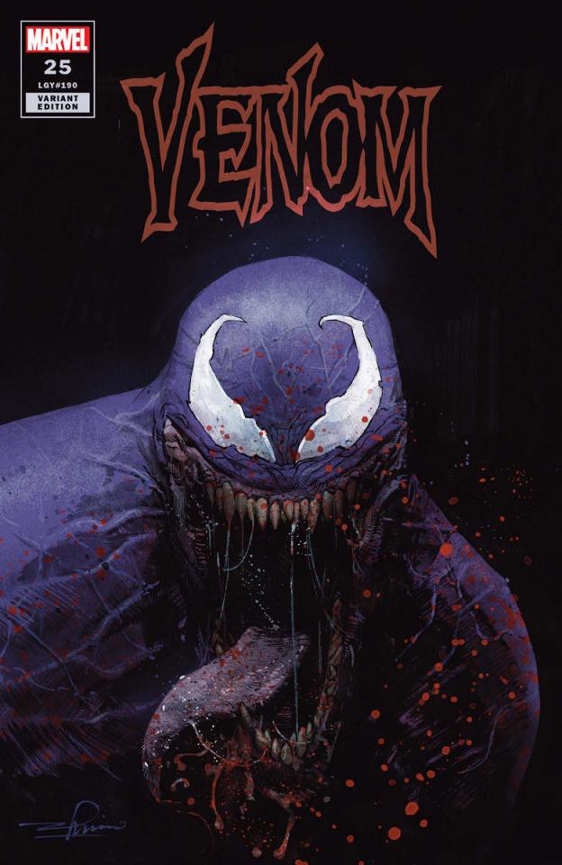 Venom #25 (Zaffino Cover)