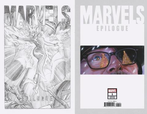 Marvels: Epilogue #1 (Alex Ross Sketch Cover)