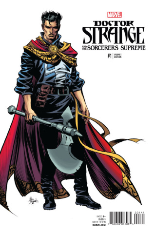 Doctor Strange and the Sorcerers Supreme #1 (Deodato Teaser Cover)