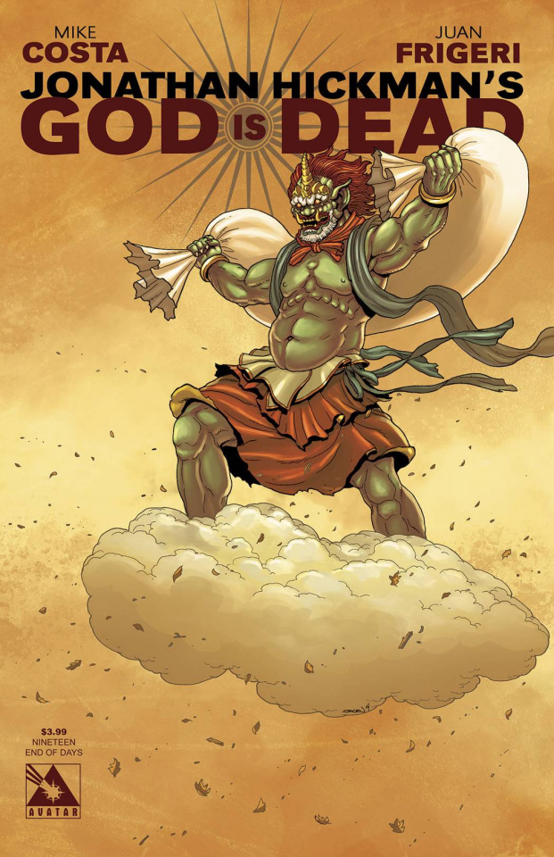 God Is Dead #19 (End of Days Cover)