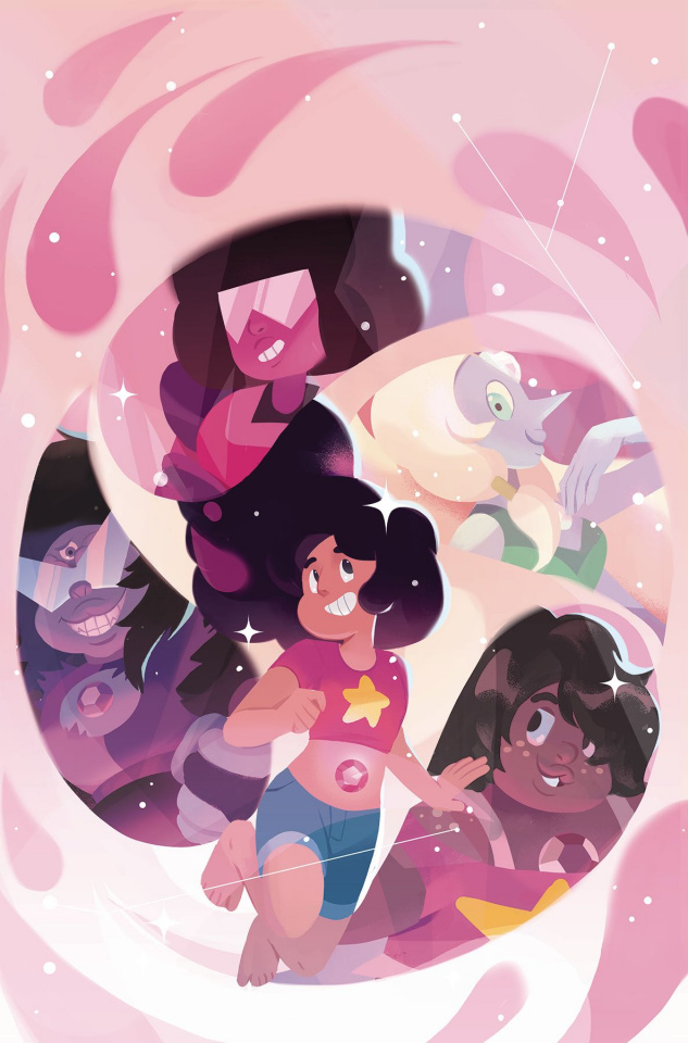Steven Universe: Fusion Frenzy #1 (10 Copy Fourdraine Cover)
