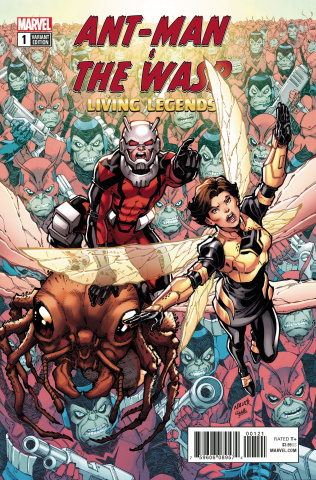 Ant-Man and The Wasp: Living Legends #1 (Nauck Cover)