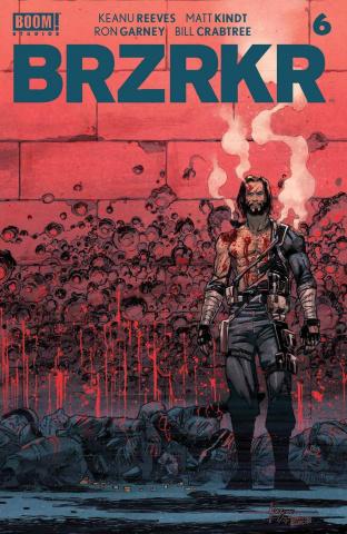 BRZRKR #6 (Fernandez Cover)