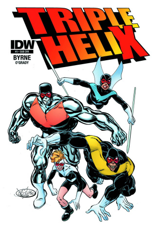 Triple Helix #3 (Subscription Cover)