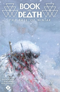 Book of Death: The Fall of Ninjak #1 (20 Copy Pastoras Cover)