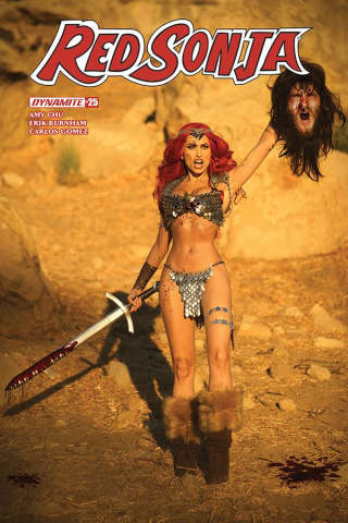 Red Sonja #25 (Cosplay Cover)