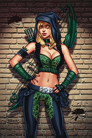 Robyn Hood: Vigilante #5 (McKay Cover)