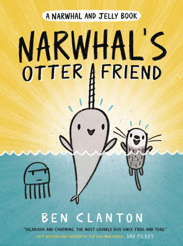 Narwhal & Jelly Vol. 4: Narwhal's Otter Friend