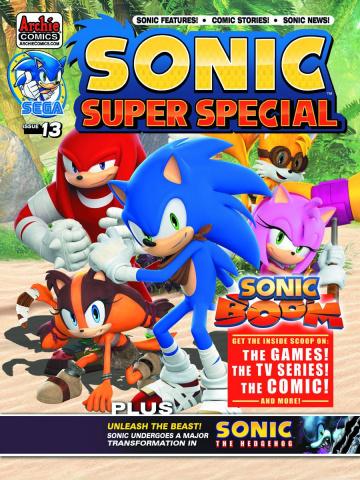 Sonic: Super Special Magazine #13