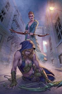 Grimm Fairy Tales: Robyn Hood - I Love NY #11 (Malsuni Cover)