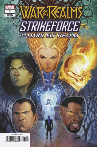 The War of the Realms: Strikeforce - The Dark Elf Realm #1 (Reis Cover)