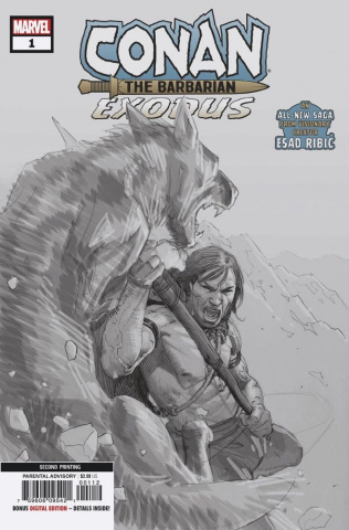Conan the Barbarian: Exodus #1 (Ribic 2nd Printing)