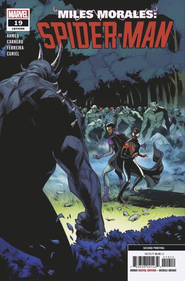 Miles Morales: Spider-Man #19 (2nd Printing)