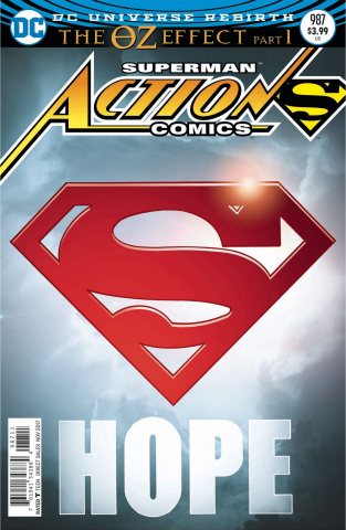 Action Comics #987 (Lenticular Cover)