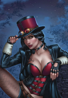 Van Helsing vs. Robyn Hood #2 (Santacruz Cover)