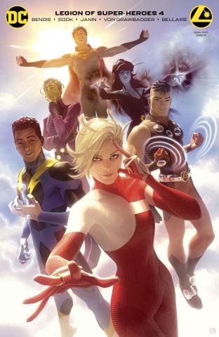 The Legion of Super Heroes #4 (Card Stock Alex Garner Cover)