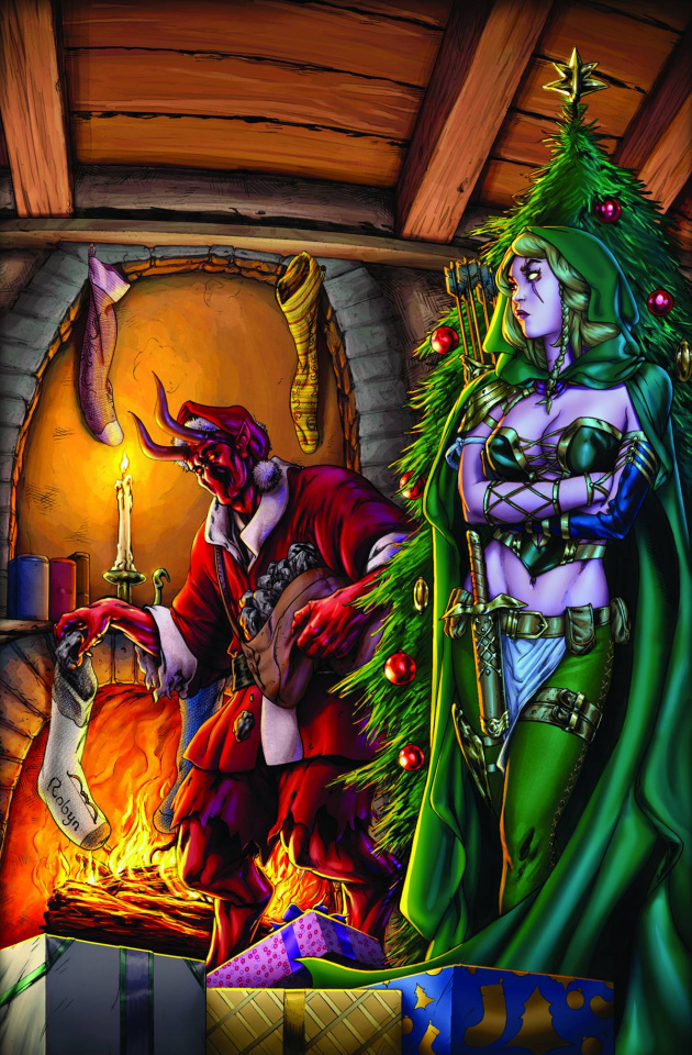 Grimm Fairy Tales 2013 Holiday Special (Cummings Cover)