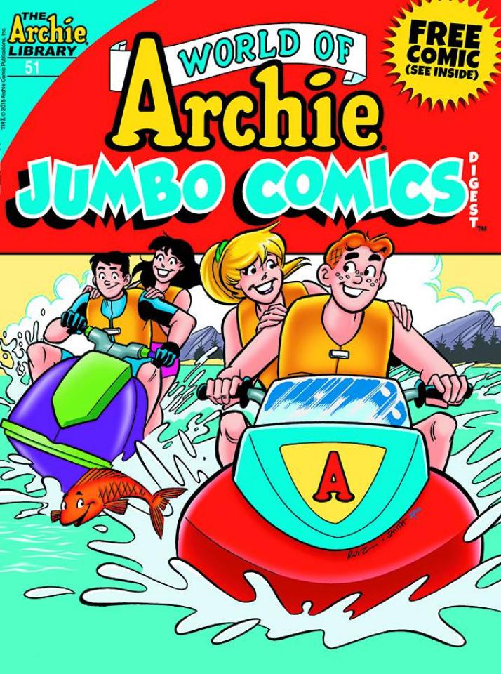 World of Archie Jumbo Comics Double Digest #51