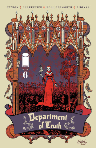The Department of Truth #6 (Charretier Cover)