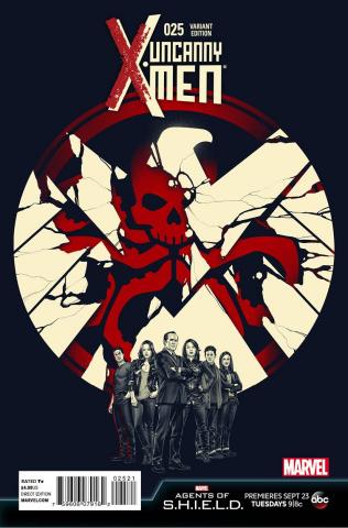 Uncanny X-Men #25 (S.H.I.E.L.D. Cover)