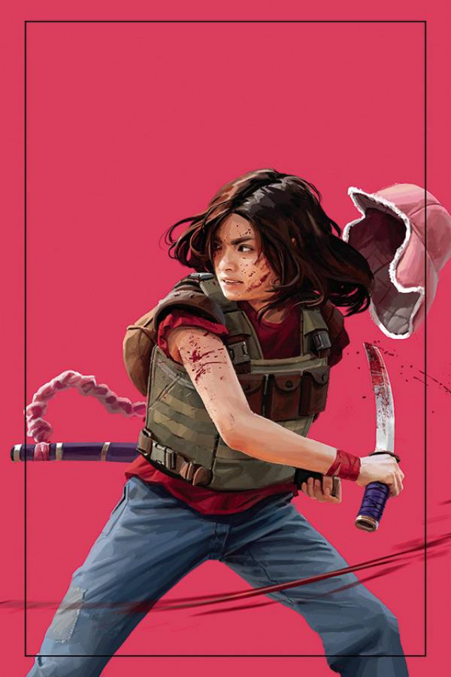 Gung-Ho #5 (10 Copy Virgin Clarke Cover)