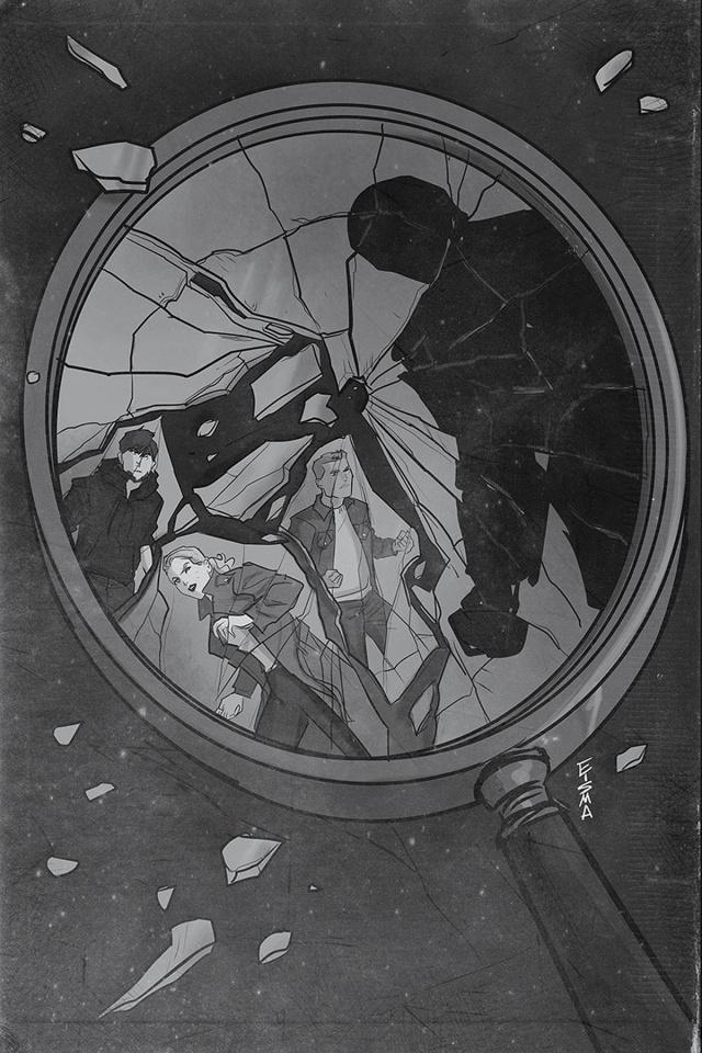Nancy Drew & The Hardy Boys: The Death of Nancy Drew #6 (25 Copy Eisma Cover)