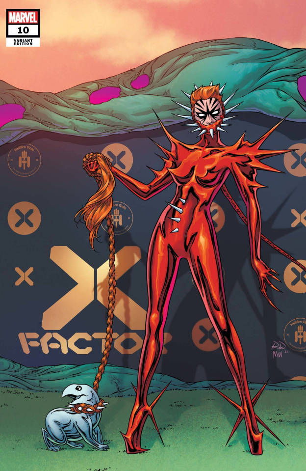 X-Factor #10 (Dauterman Connecting Cover)