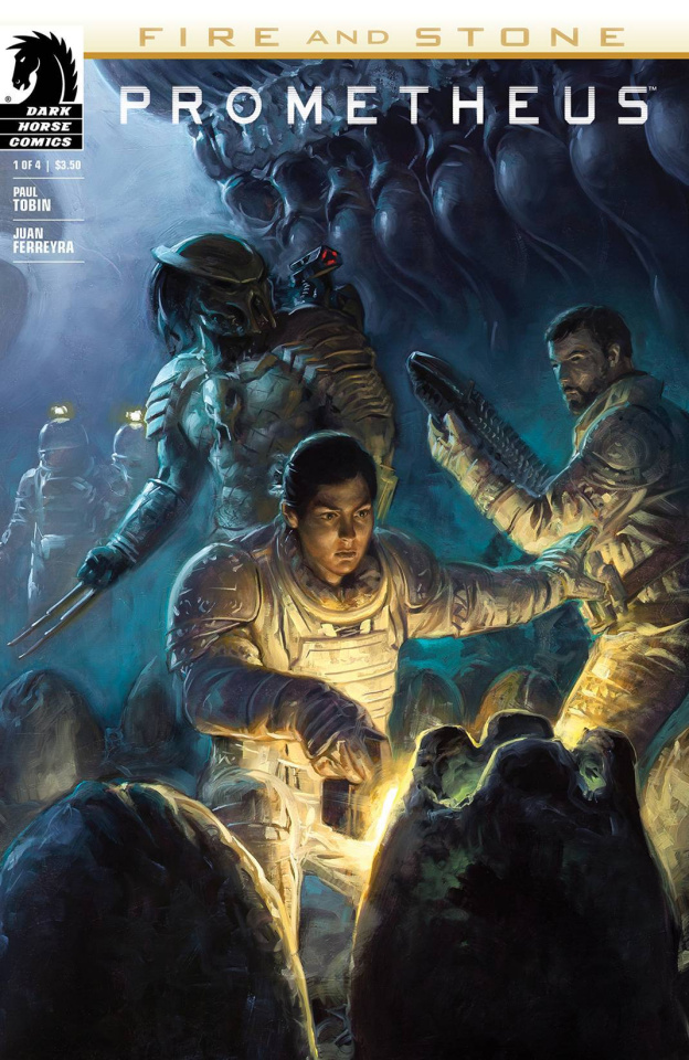Prometheus: Fire and Stone #1 (2nd Printing)