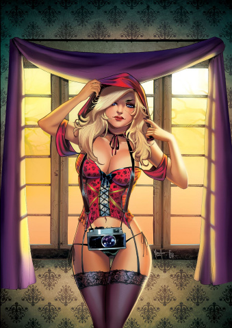 Grimm Fairy Tales 2016 Photo Shoot (Andolfo Cover)