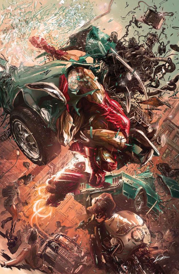 Tony Stark: Iron Man #9