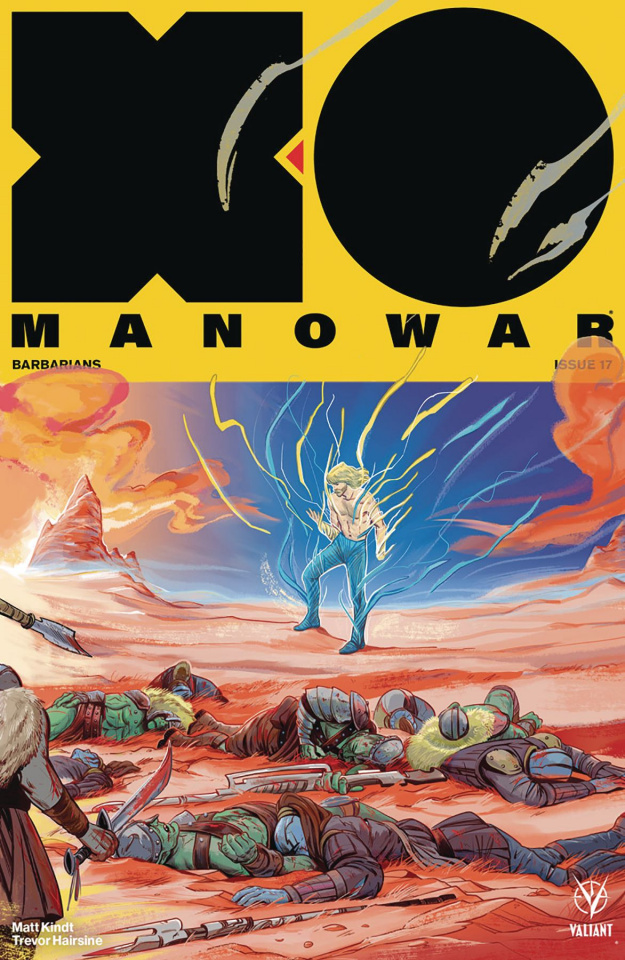 X-O Manowar #17 (20 Copy Interlocking Fish Cover)